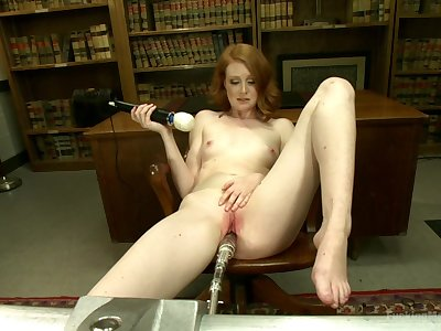 Sex machine and strong cum are the favorite things for Nathalie Lawson