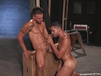 Jubilant lovers play naughty in scenes of hot anal fetish