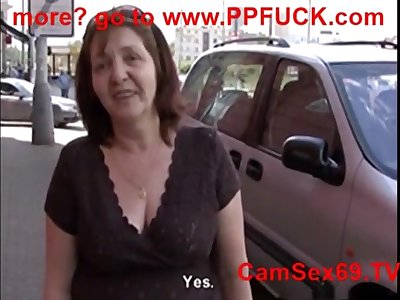 POV pussy fuck with comme ci Czech mature Jana